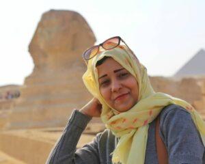 قبول عقب وصولها مصر – الصورة خاصة ل EOHM